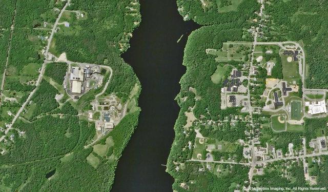 SkySat-2 image of Bangor, Maine