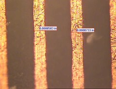 R&D mil 15 micron line.