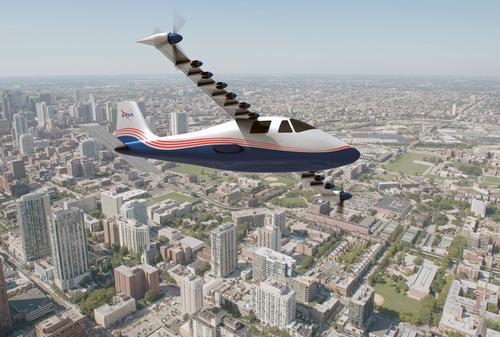 NASA's proposed electric plane