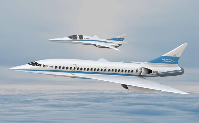 Supersonic Boom Plane