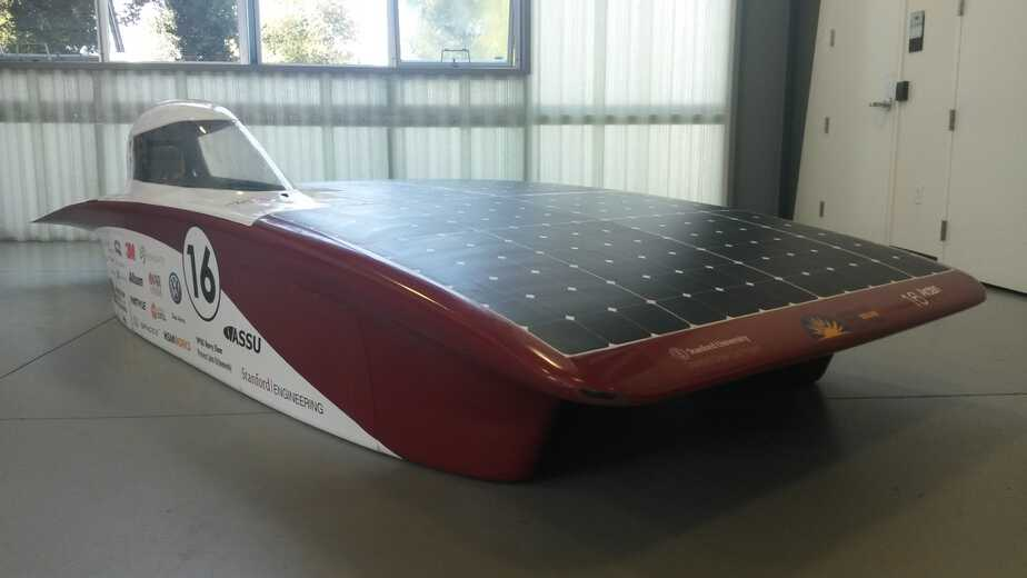 Stanford Unveils Solar Car, Sundae