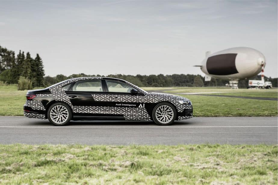 Audi A8 Level 3 Self-Driving Technology Available In 2019