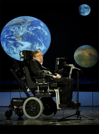 Stephen Hawking says we should leave Earth.