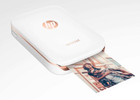 HP Sprocket mini printer for smartphones