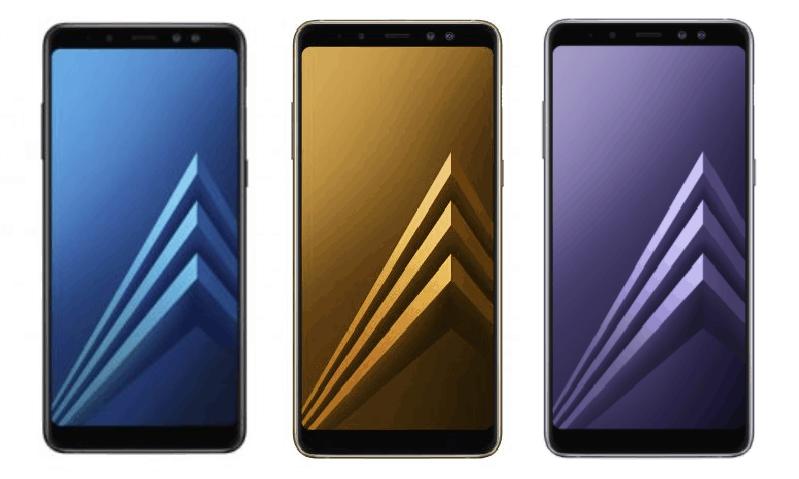 Samsung Galaxy A8 colors