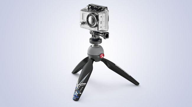 Manfrotto PIXI Xtreme mini tripod for GoPro