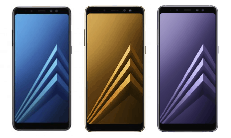 Samsung Galaxy A8 colors