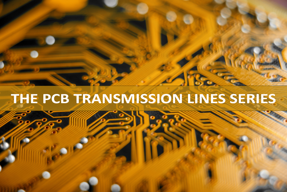 Signal Speed and Propagation Delay in a PCB Transmission Line