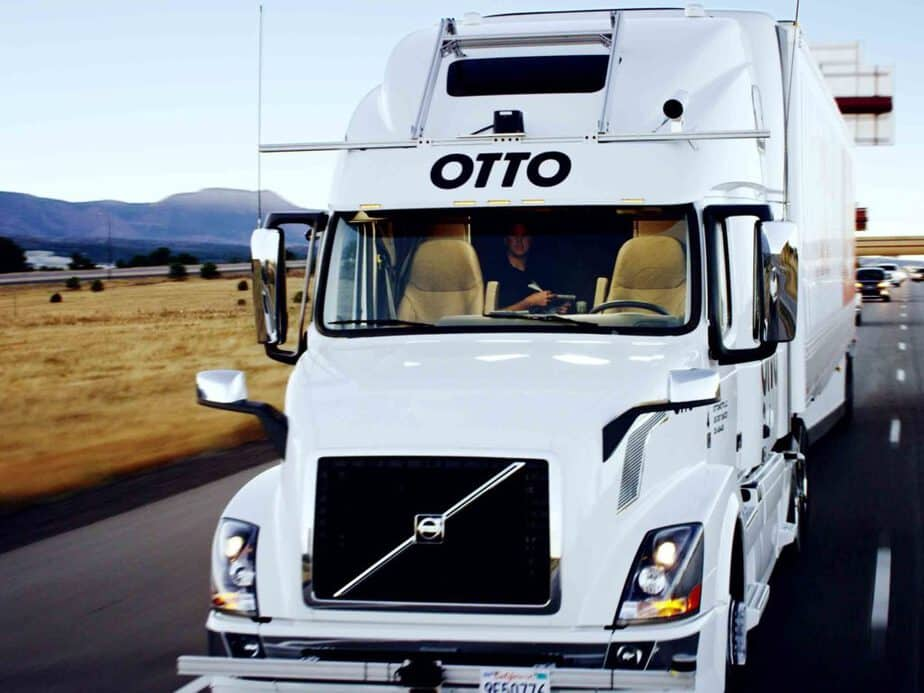 Uber's Self-Driving Truck Makes 120 Mile Journey