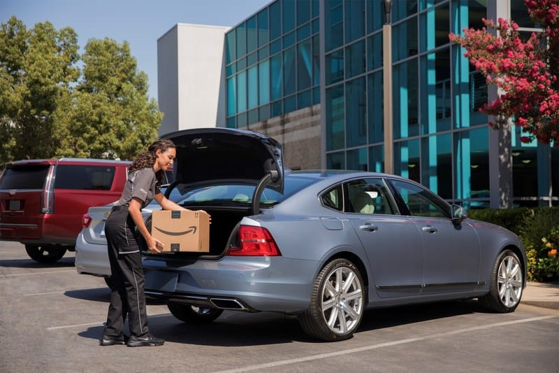 Amazon Key Will Now Deliver Packages Inside Your Car