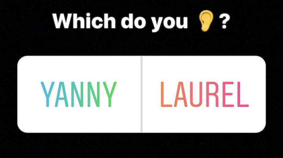 Yanny or Laurel: It's The Dress All Over Again