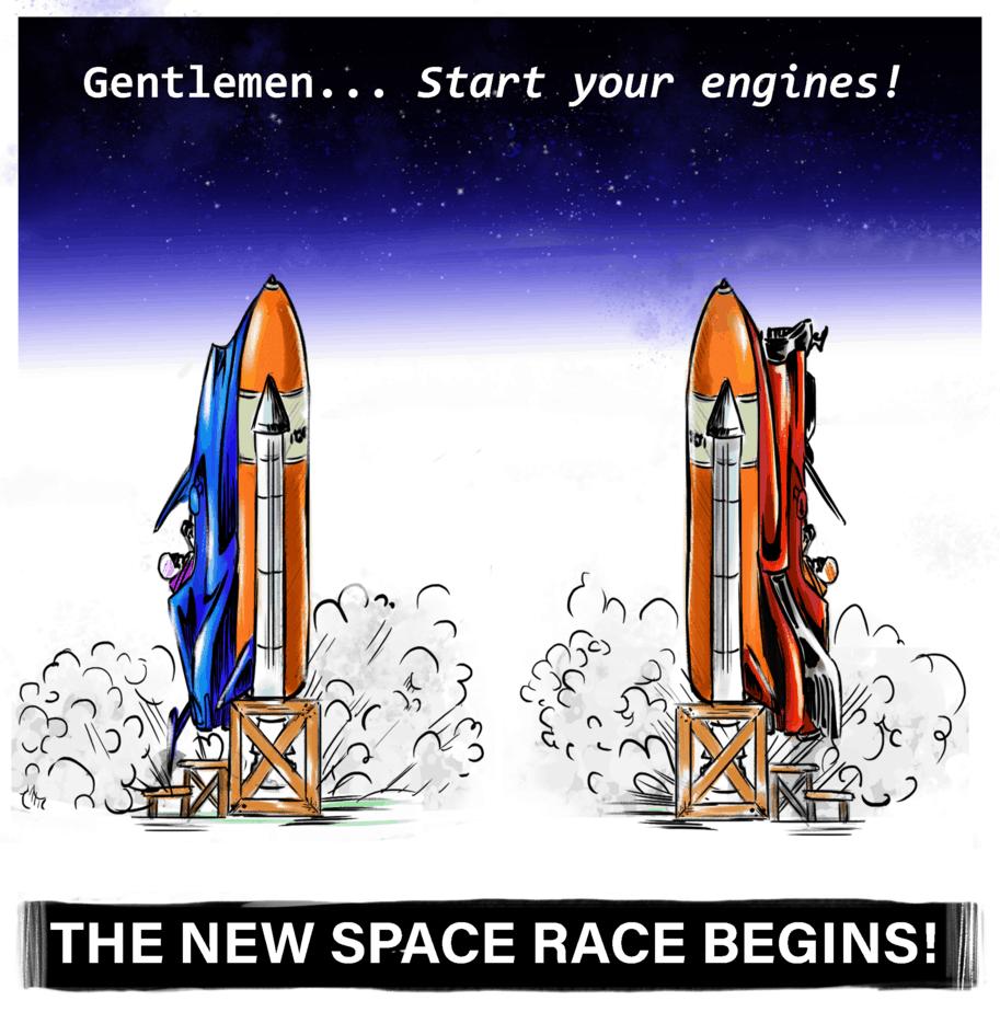 <h1>The Billionaire Space Race</h1> post thumbnail image