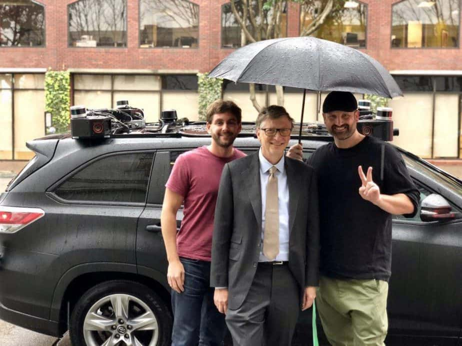 Zoox Kentley-Klay and Levinson with Bill Gates