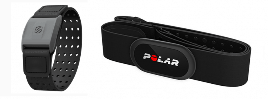 Bring to Light heart rate monitors Polar H10 Schosche Rythm