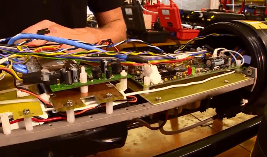 Sunrise drone circuit boards - Futuris