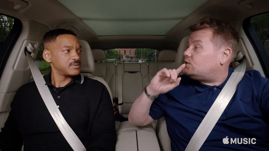 Apple Carpool Karaoke Will Smith