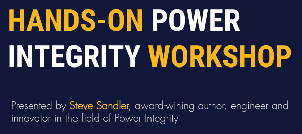 Power Integrity workshop by Steve Sandler
