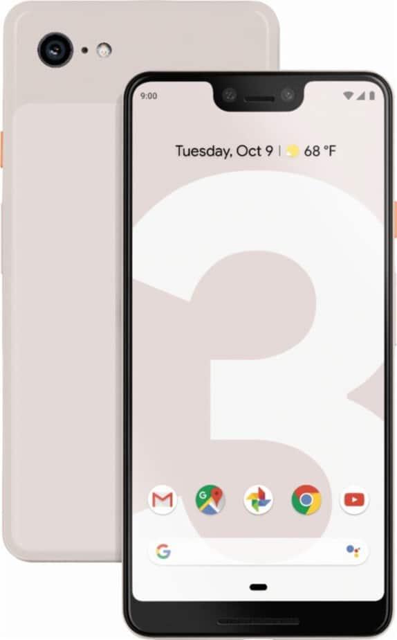 Google Pixel 3 Starts At $799