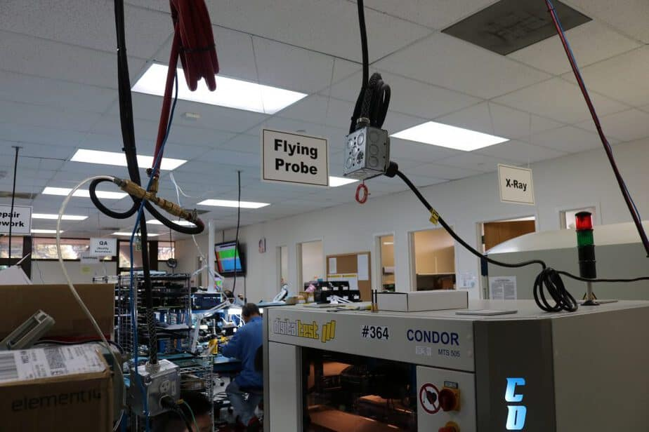 The Flying Probe Tester