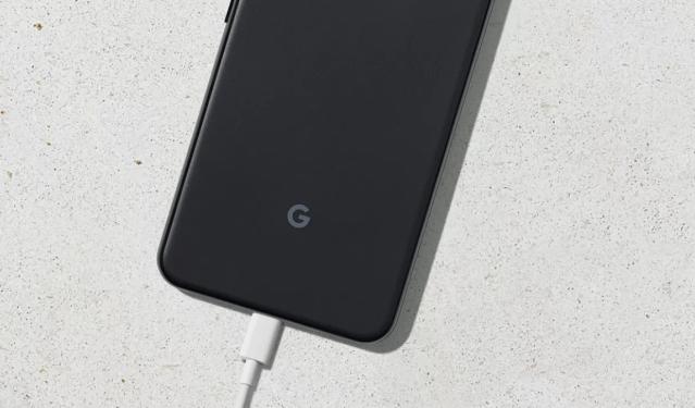 Google Pixel 3a Charging