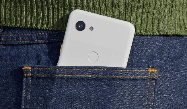 Google Pixel 3a Design