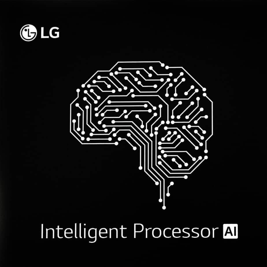 The Intelligent Processor of the LG as it seems on their site is to make smarter home appliance.