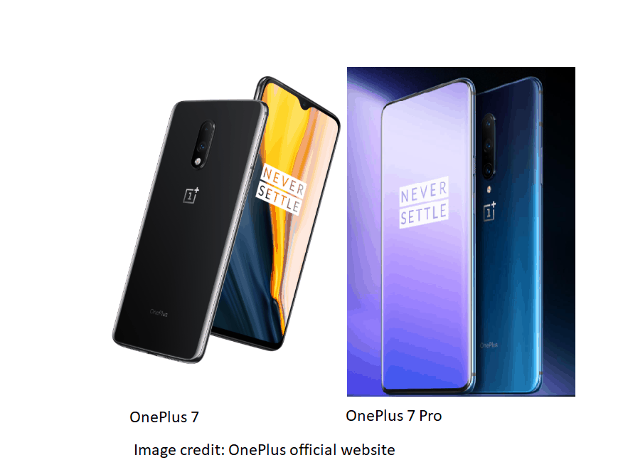 OnePlus 7 and OnePlus 7 Pro