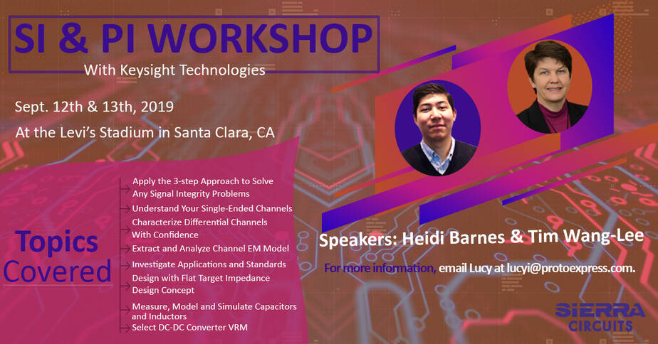 <h1>Signal Integrity and Power Integrity Workshop with Keysight Technologies</h1> post thumbnail image