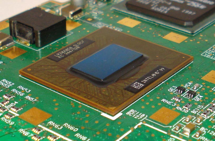 Intel Mobile Celeron in a BGA2 package