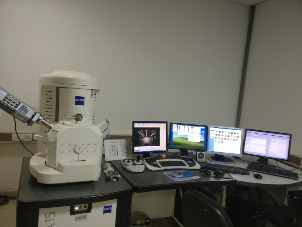 Electron Microscope for Microsection observation