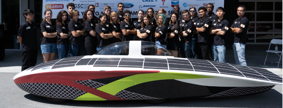Stanford Solar Car Project Crew Members