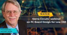 PCB Design for Low EMI Webinar Ken Wyatt Sierra Circuits