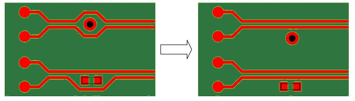 Differential pairs in high speed circuits