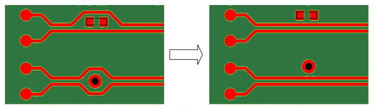Differential Pair Signals Two Traces