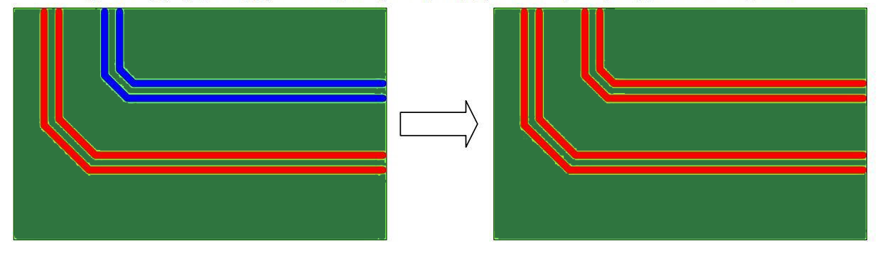 Routing Differential Pairs in high speed circuits