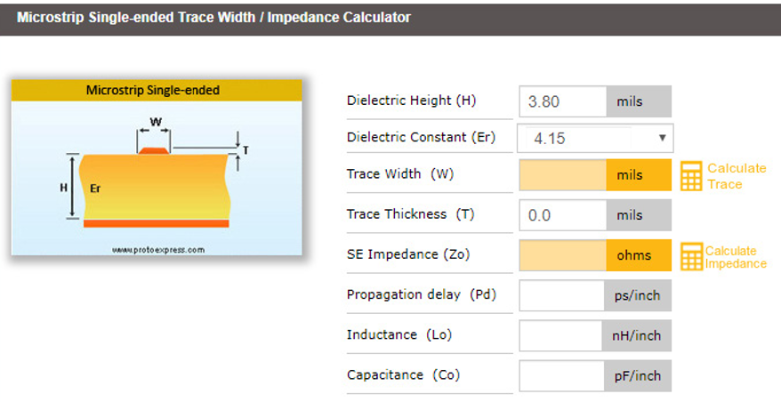 Check for DFM Issues with the Impedance Calculator