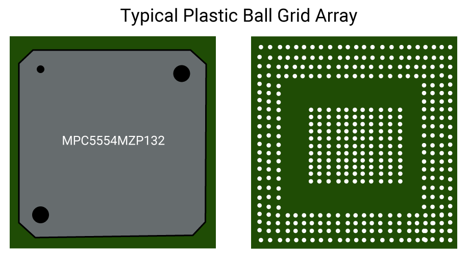 Typical Ball Grid Array