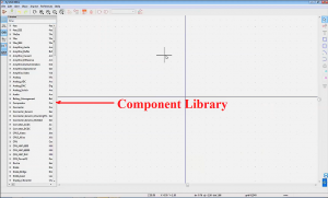 Component library in KiCad