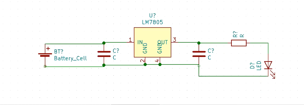 connect symbols in KiCad