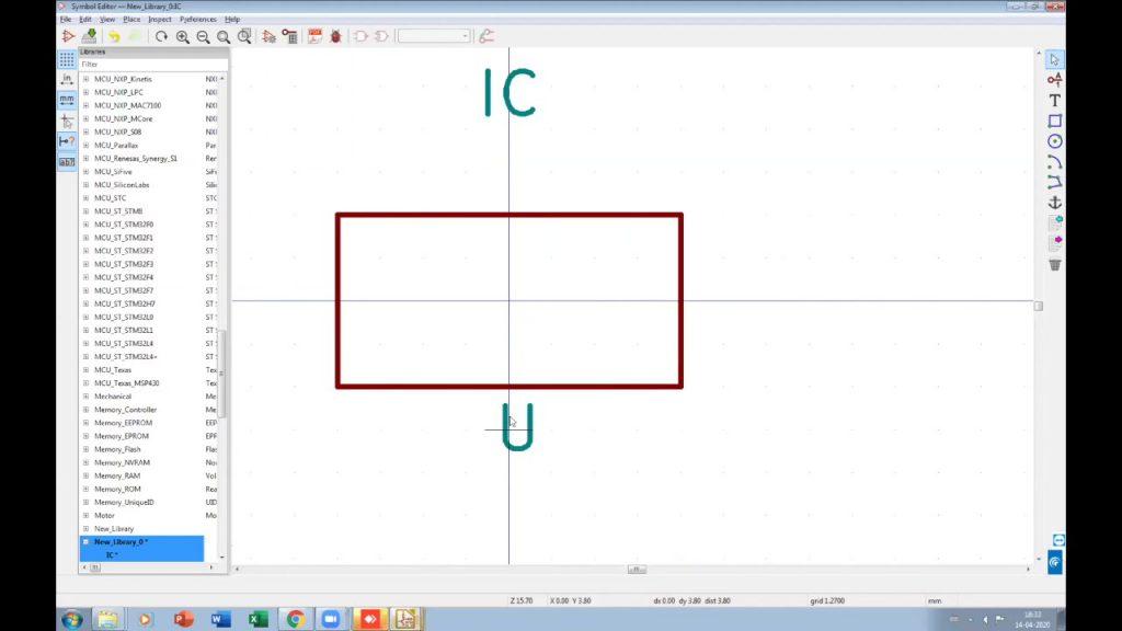 Edit KiCad Symbol