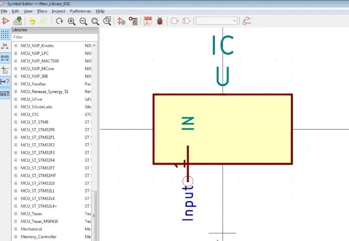 How to Create a Schematic and Symbol Library in KiCad