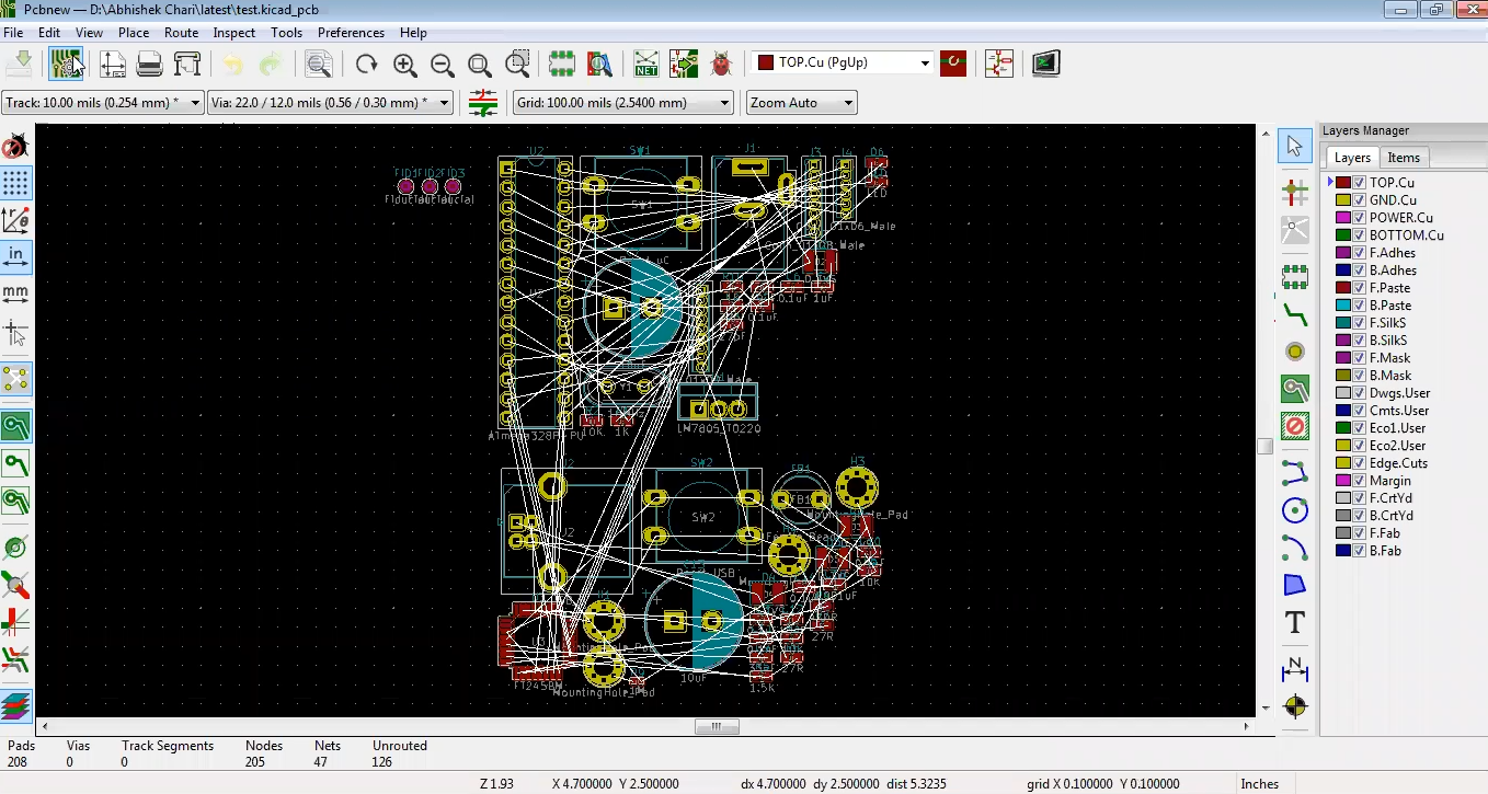 Components in Kicad