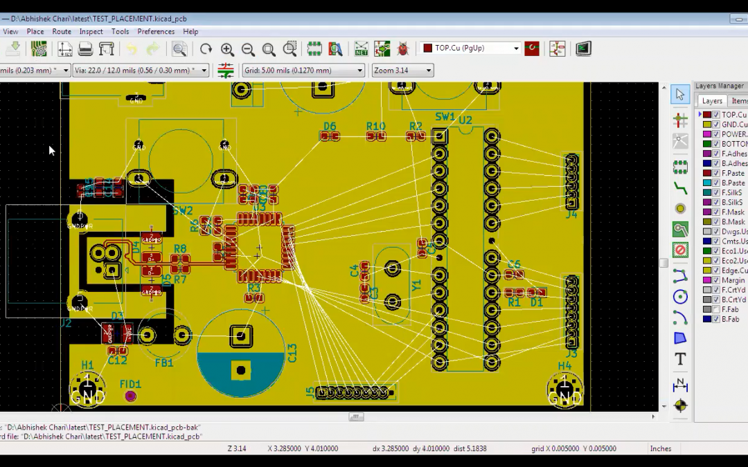 How to Route a PCB in KiCad