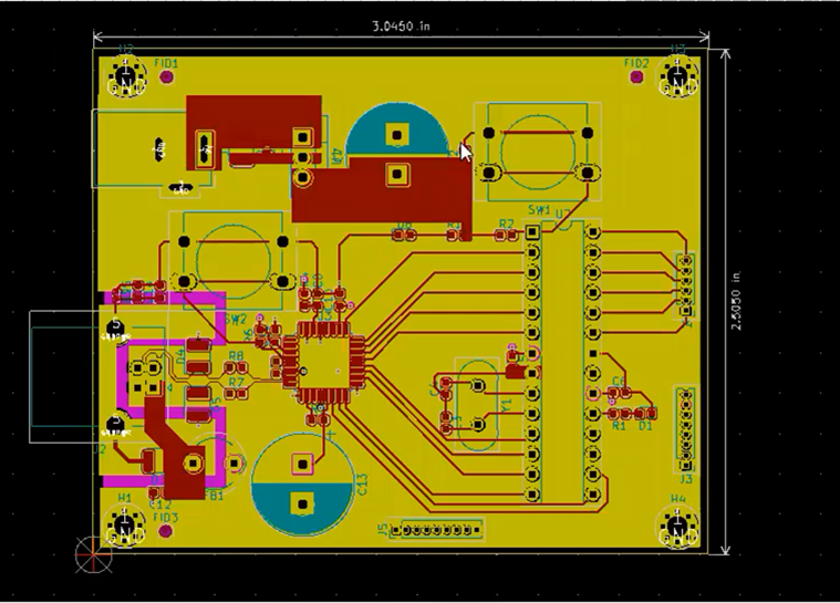 KiCad Saving the first part