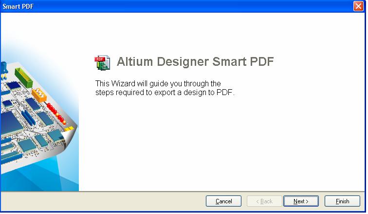 how to export pdf in altium designer smart PDF