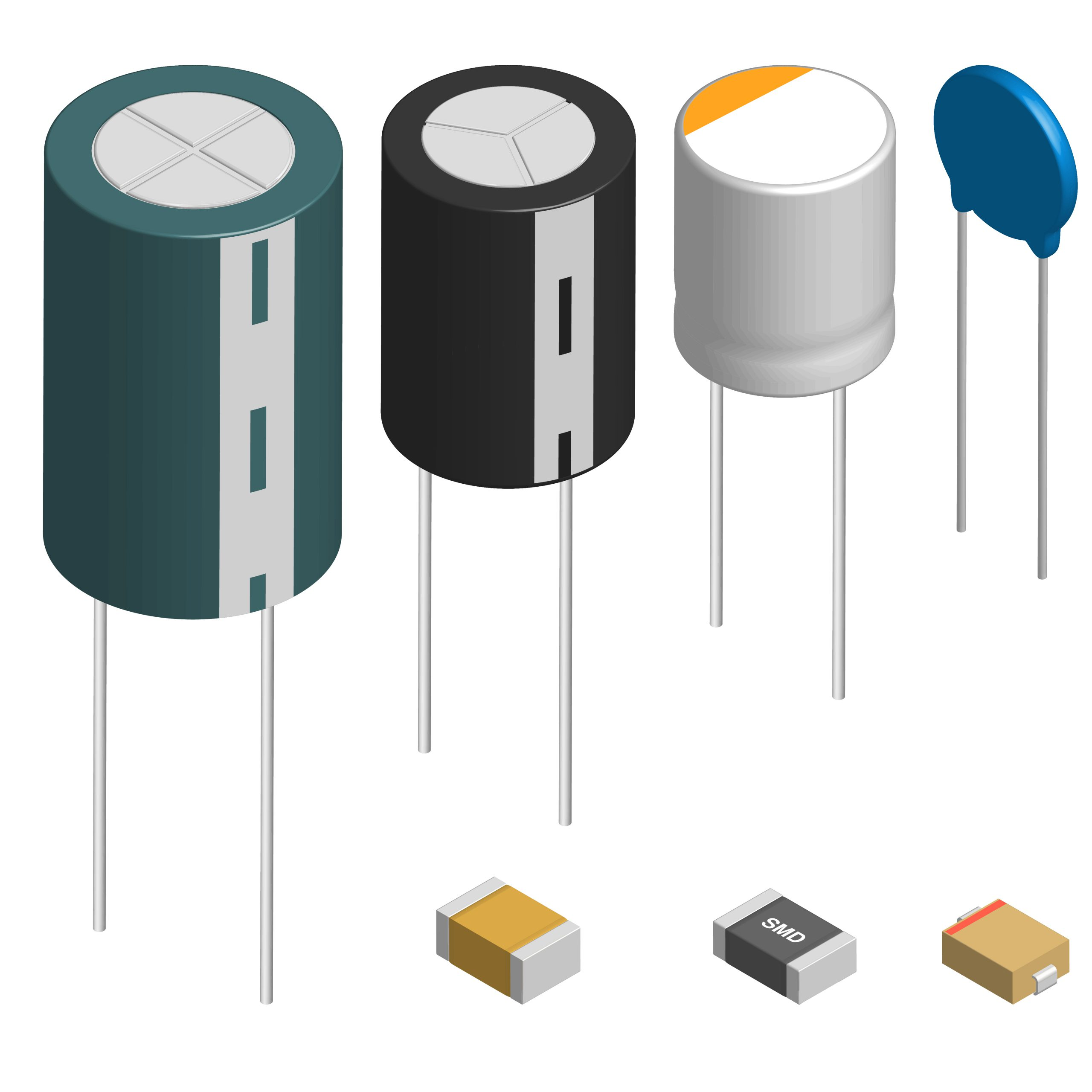 Surface Mount Technology component Capacitor