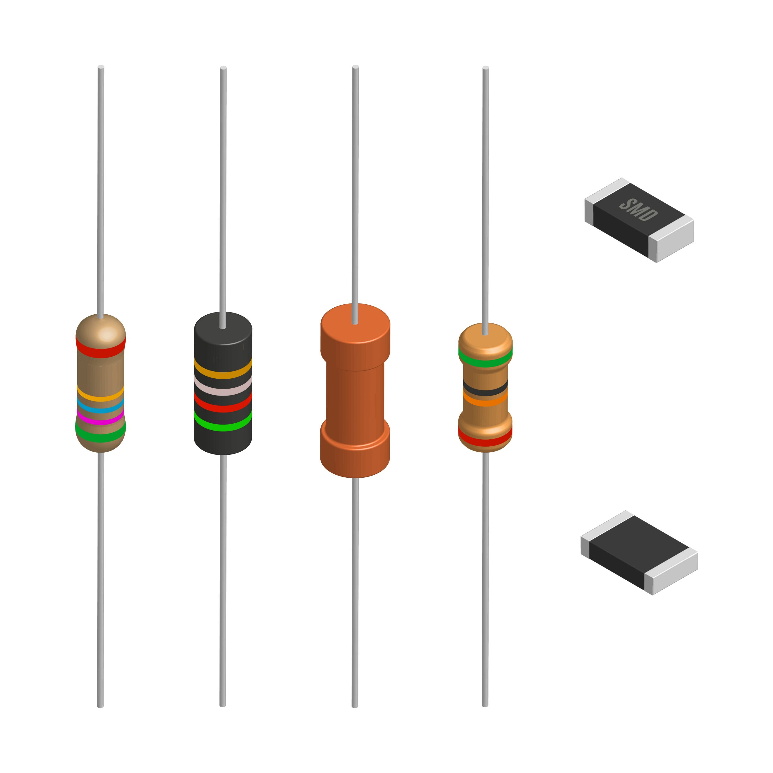 Surface Mounted Technology Component Resistor