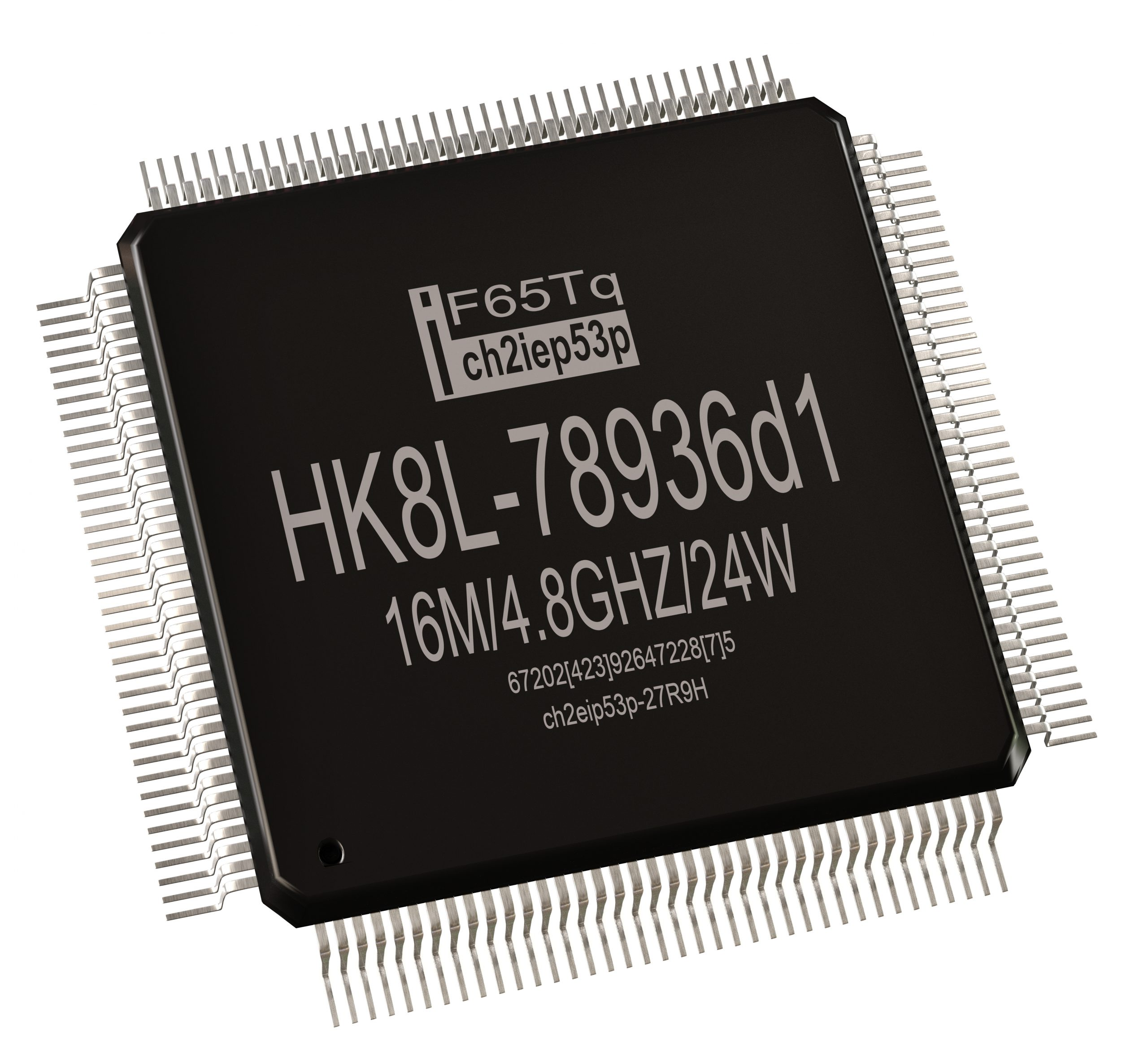 Surface Mounted Component - Quad Flat Pack IC