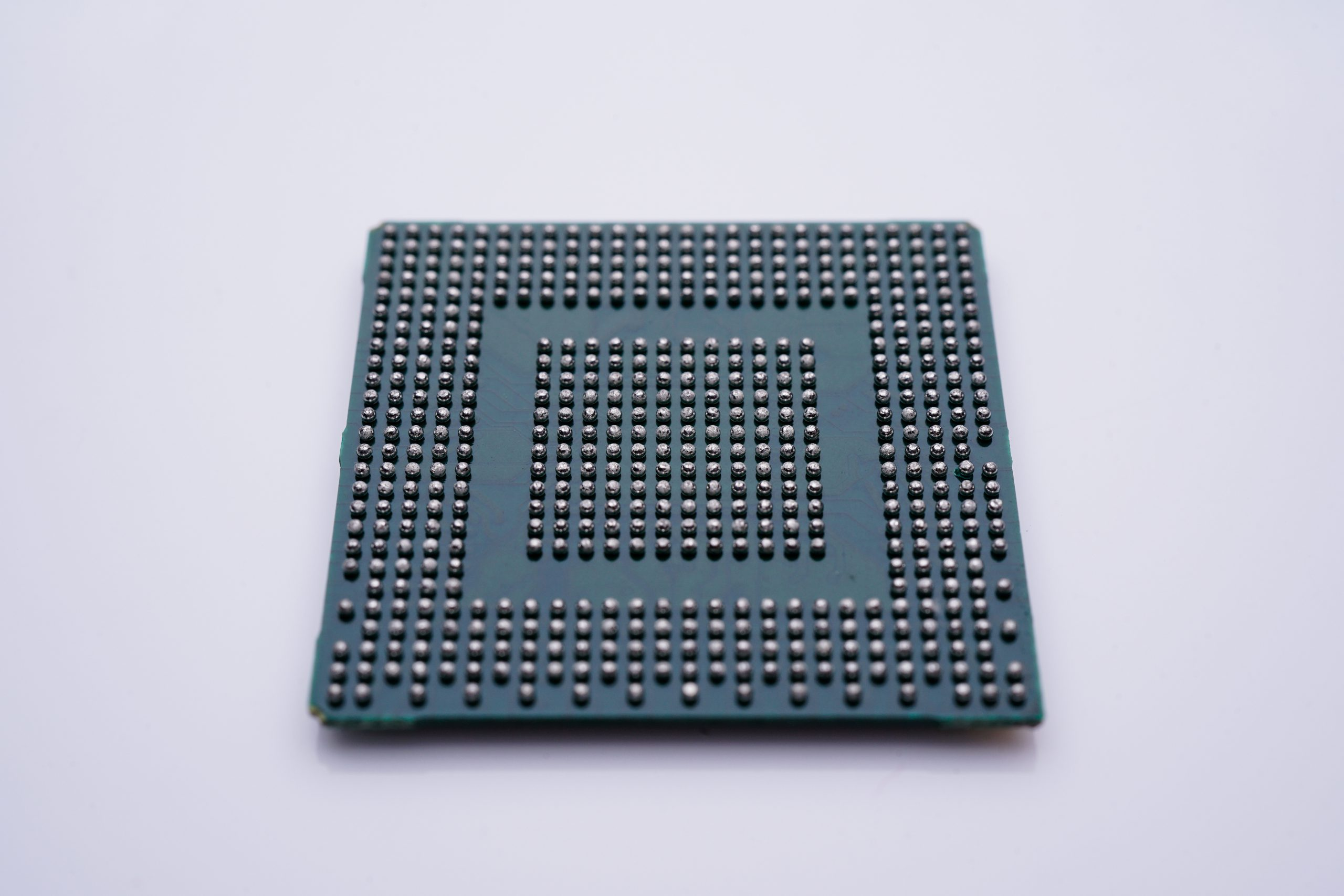 SMT component IC with Ball Grid Array