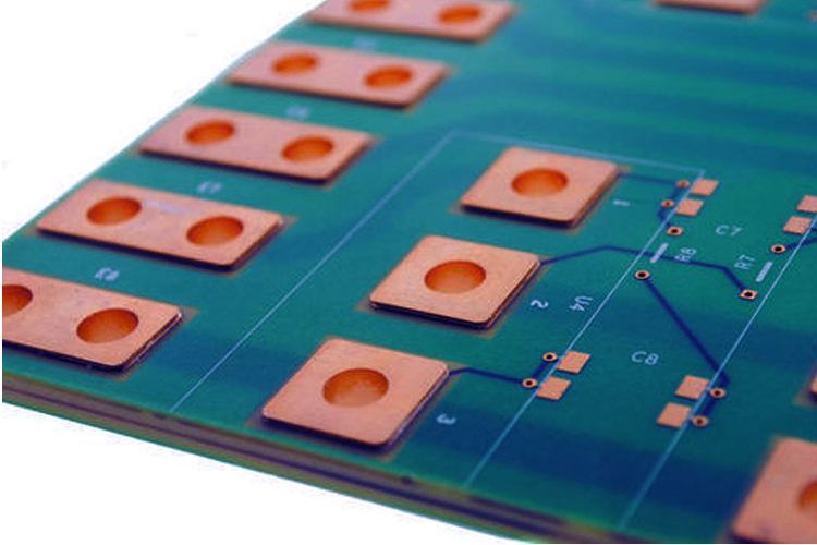 Copper pad for better PCB thermal management